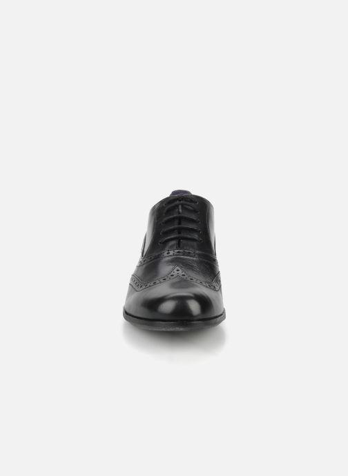Lace-up shoes Clarks Hamble oak Black model view