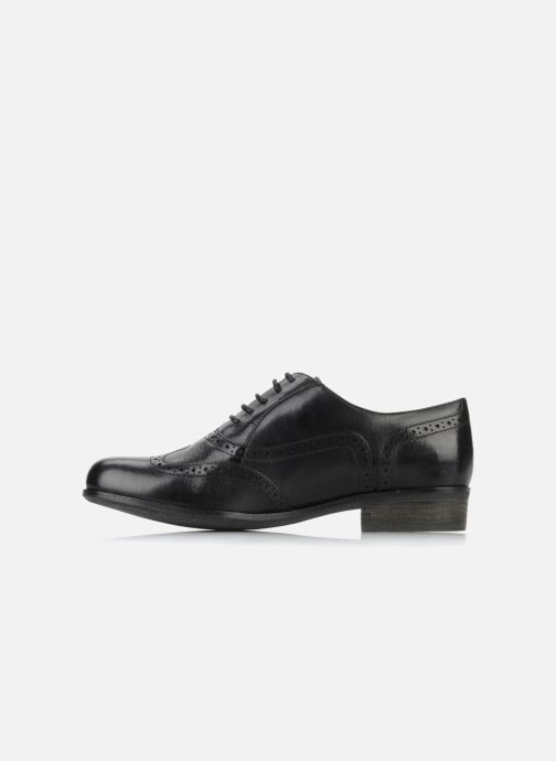Snörade skor Clarks Hamble Oak Svart bild från framsidan