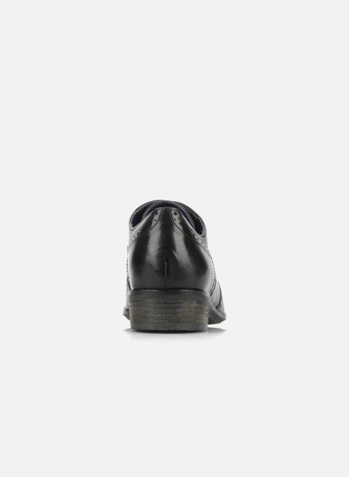 Snörade skor Clarks Hamble Oak Svart Bild från höger sidan