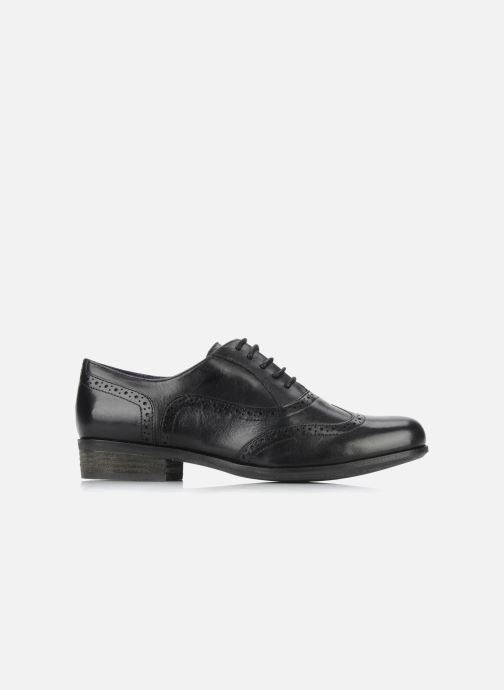 Zapatos con cordones Clarks Hamble Oak Negro vistra trasera