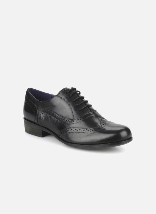 Snörade skor Clarks Hamble Oak Svart detaljerad bild på paret