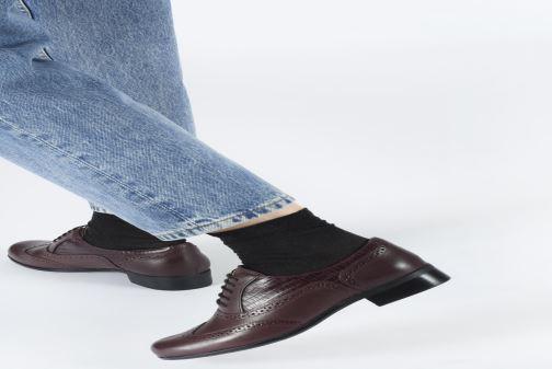 Schnürschuhe Clarks Hamble Oak braun ansicht von unten / tasche getragen
