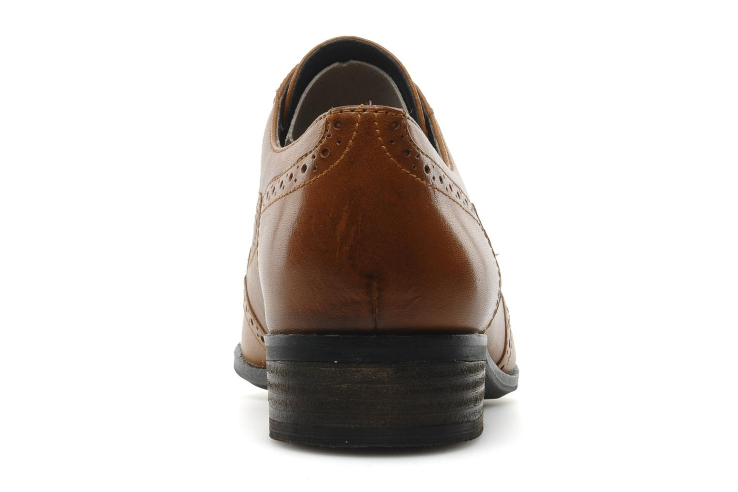 Zapatos con cordones Clarks Hamble Oak Marrón vista lateral derecha