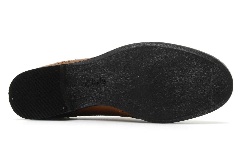 Chaussures à lacets Clarks Hamble Oak Marron vue haut