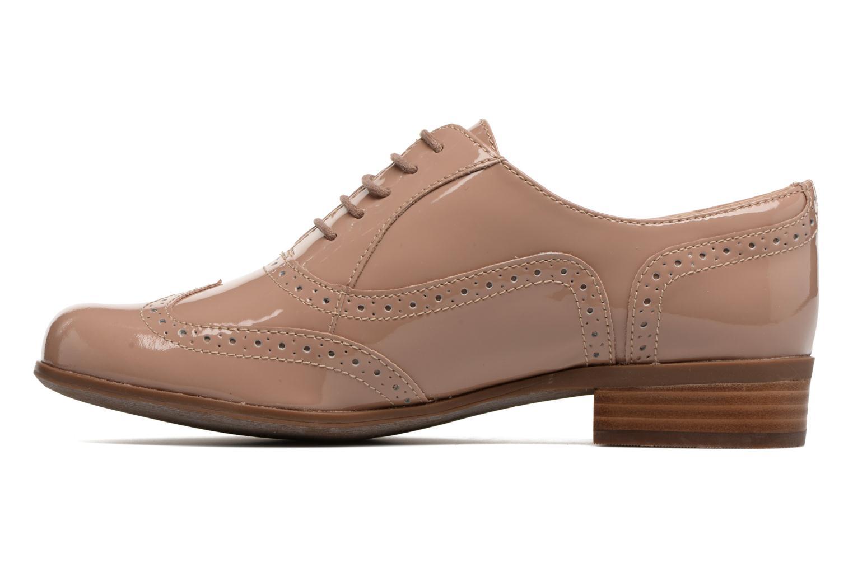 Chaussures à lacets Clarks Hamble Oak Beige vue face