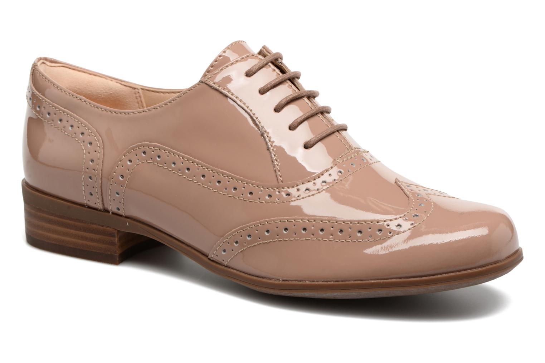 Chaussures à lacets Clarks Hamble Oak Beige vue détail/paire