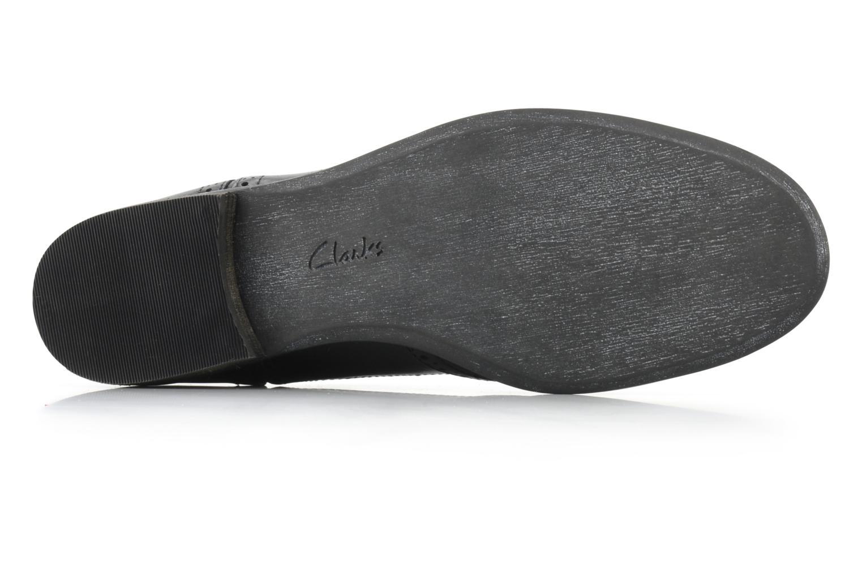 Chaussures à lacets Clarks Hamble Oak Noir vue haut