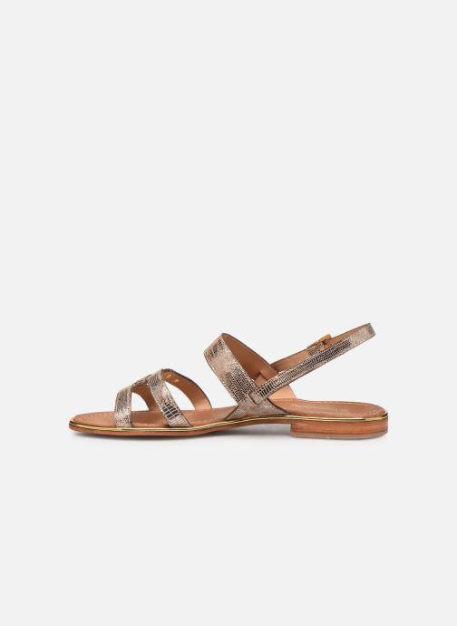 Sandals Les Tropéziennes par M Belarbi Hilda Bronze and Gold front view