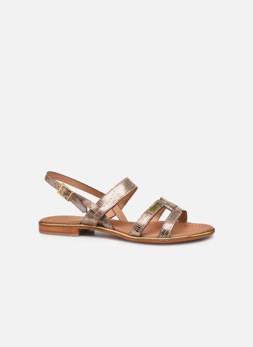 Sandals Les Tropéziennes par M Belarbi Hilda Bronze and Gold back view