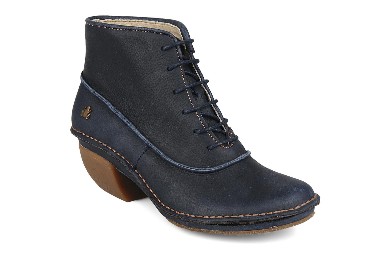 df5be4aed0c Bottines et boots El Naturalista Rana Tharu NW456 Bleu vue détail paire