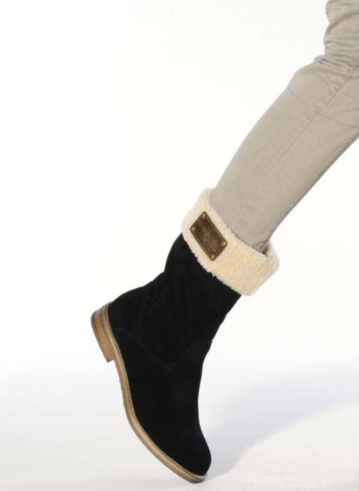 Loafers Les Tropéziennes par M Belarbi Galway Black view from underneath / model view