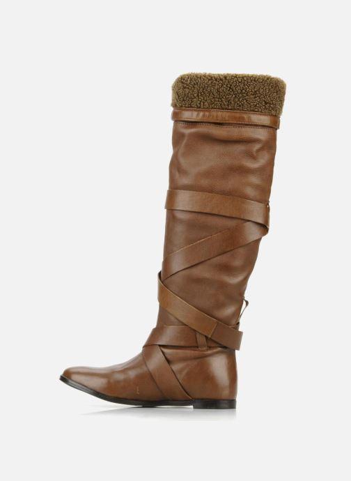Støvler & gummistøvler Georgia Rose Merika Brun se forfra