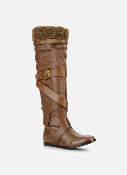 Støvler & gummistøvler Georgia Rose Merika Brun detaljeret billede af skoene