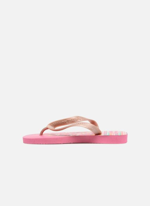 Infradito Havaianas Kids flores Rosa immagine frontale