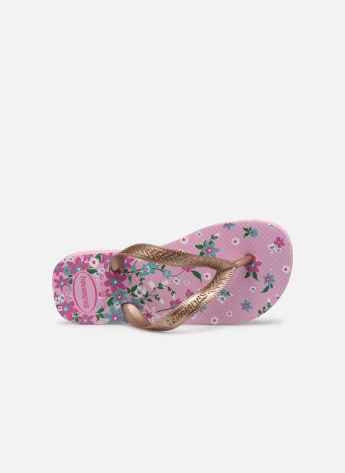 Slippers Havaianas Kids flores Multicolor links