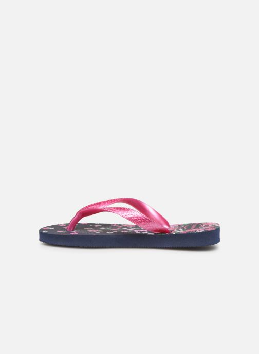 Tongs Havaianas Kids flores Multicolore vue face
