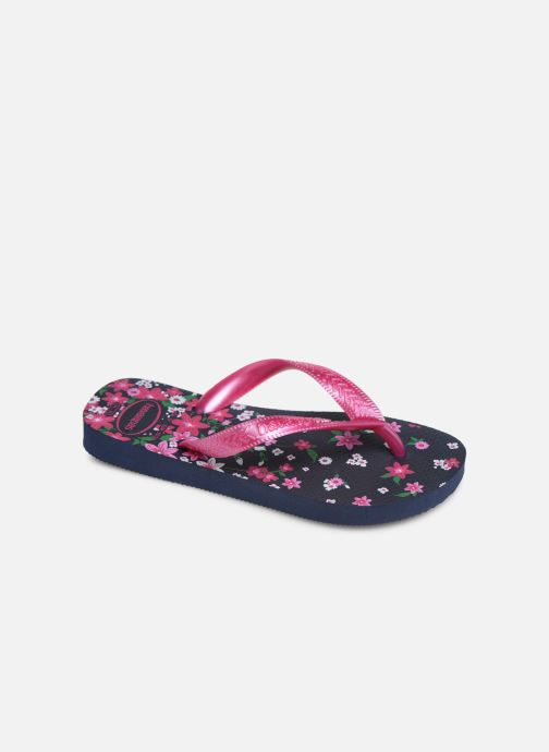 Tongs Havaianas Kids flores Multicolore vue détail/paire