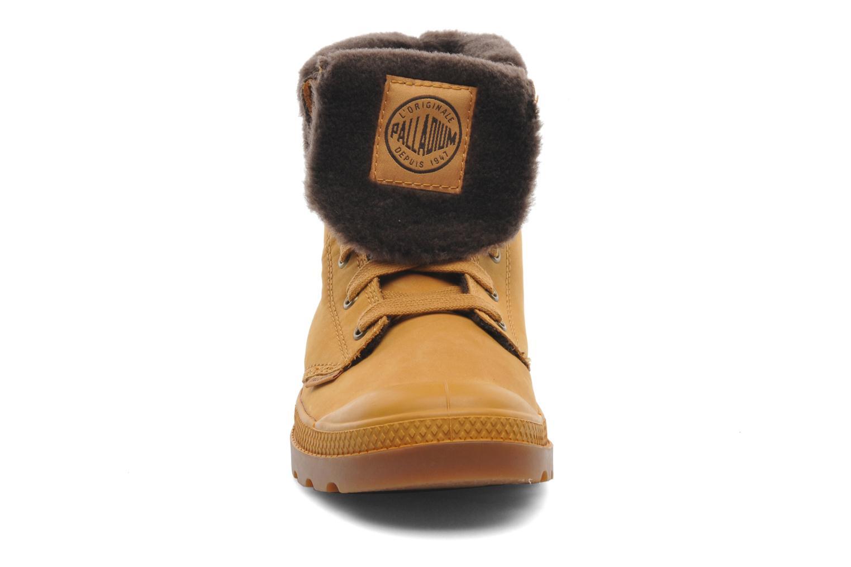 Bottines et boots Palladium Baggy l s m Beige vue portées chaussures