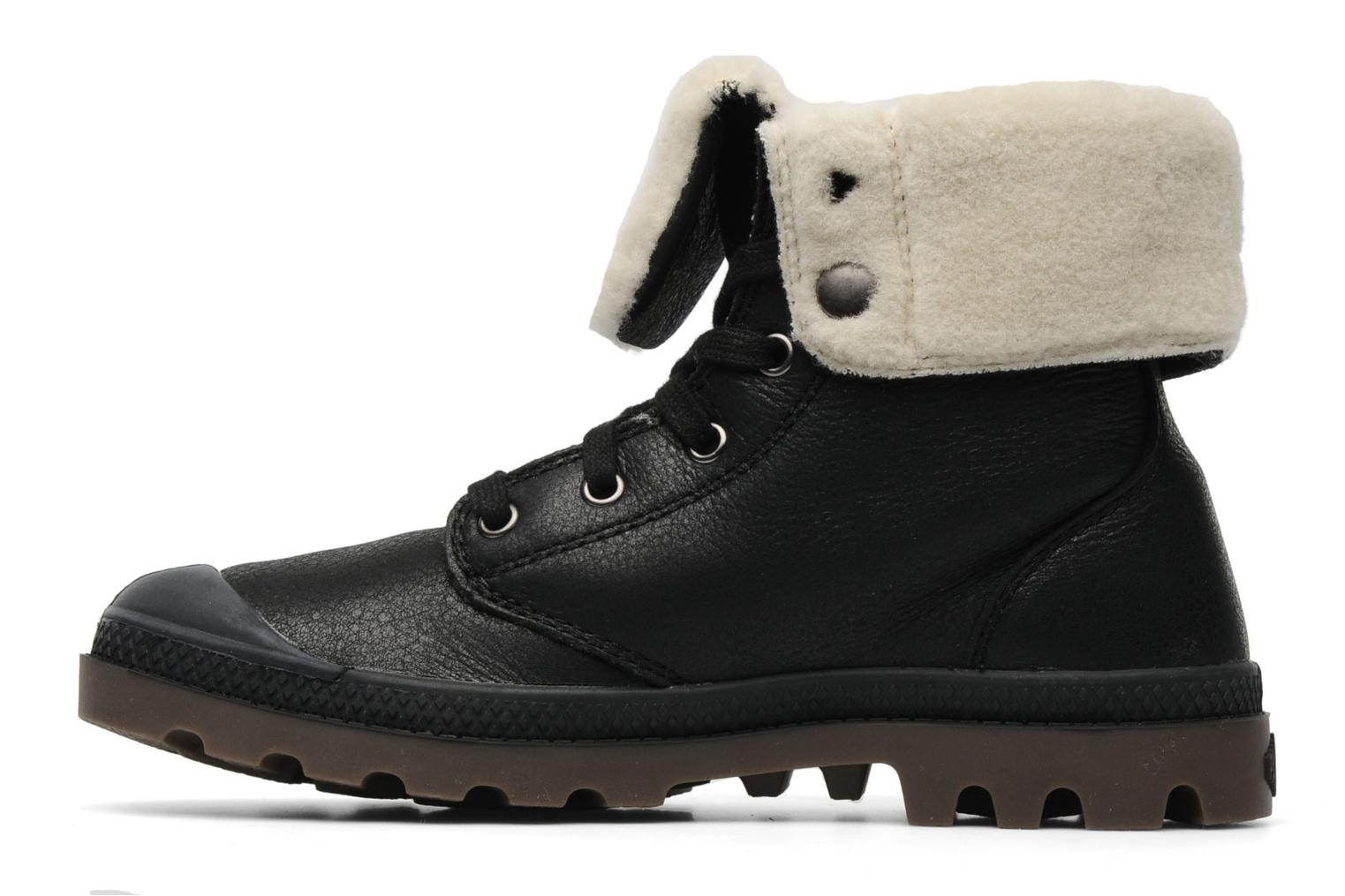Bottines et boots Palladium Baggy ls w Noir vue face