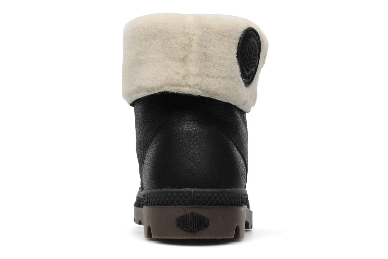 Bottines et boots Palladium Baggy ls w Noir vue droite