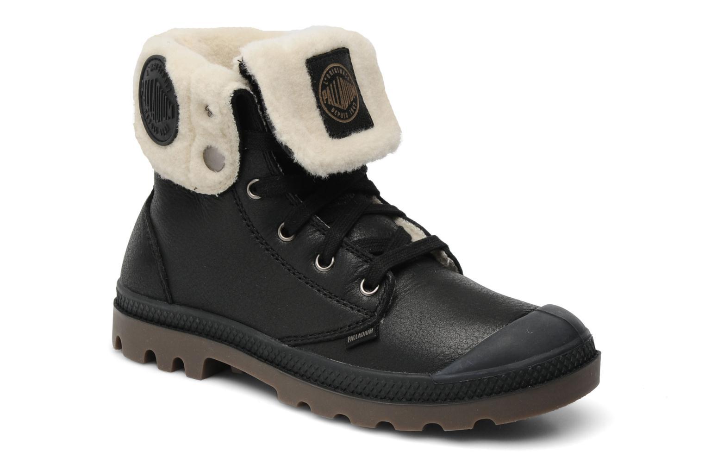 Ankelstøvler Palladium Baggy ls w Sort detaljeret billede af skoene