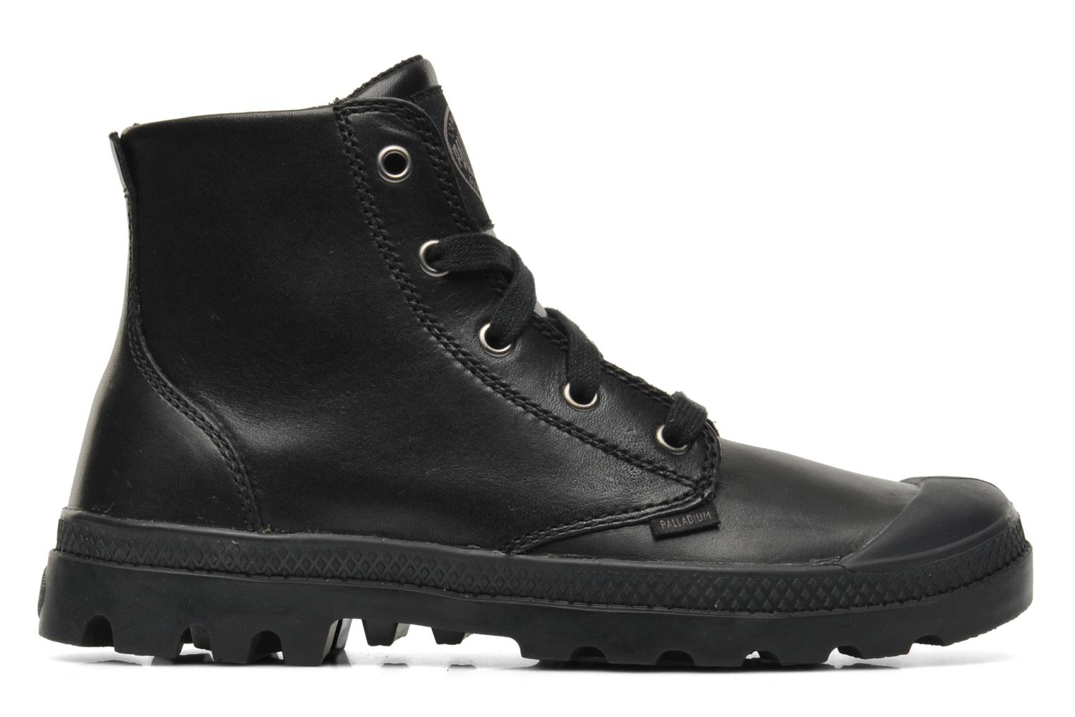 Sneakers Palladium Pampa hi leather w Nero immagine posteriore