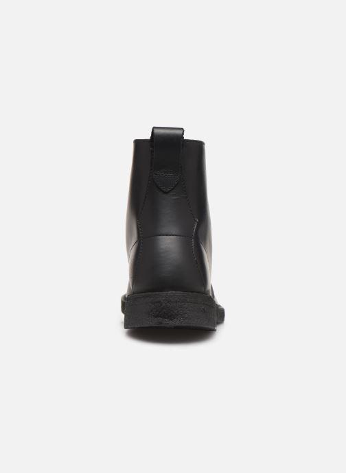 Bottines et boots Clarks Originals Desert mali Noir vue droite