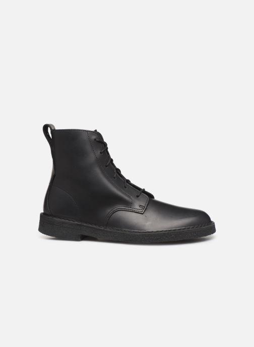Bottines et boots Clarks Originals Desert mali Noir vue derrière