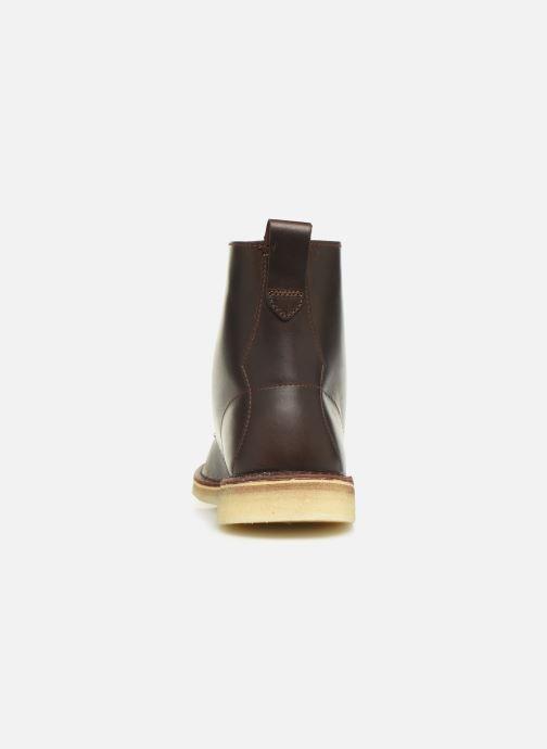 Bottines et boots Clarks Originals Desert mali Marron vue droite