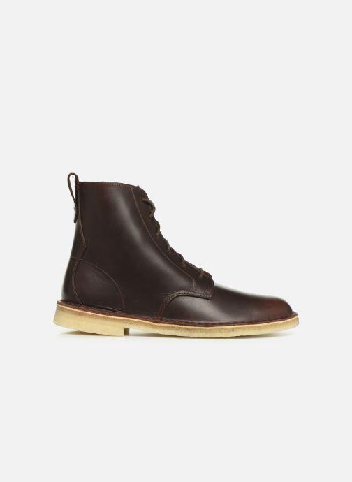 Stiefeletten & Boots Clarks Originals Desert mali braun ansicht von hinten