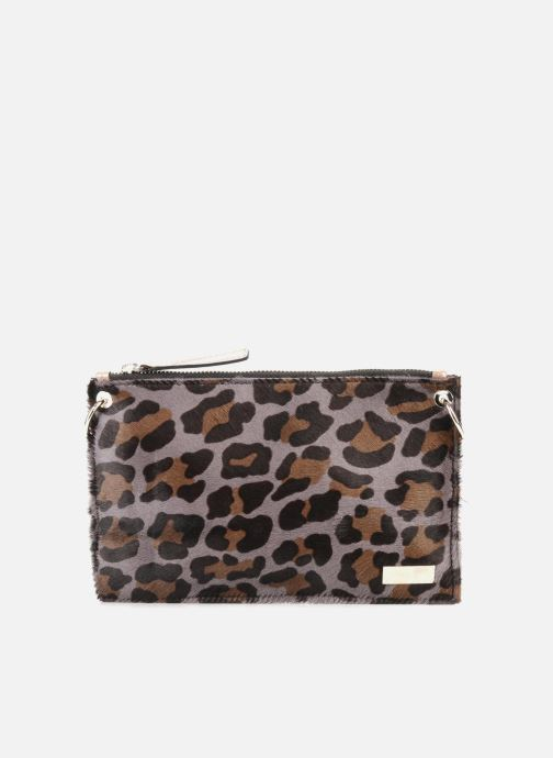 Clutch Georgia Rose Luna Cuir Bruin detail