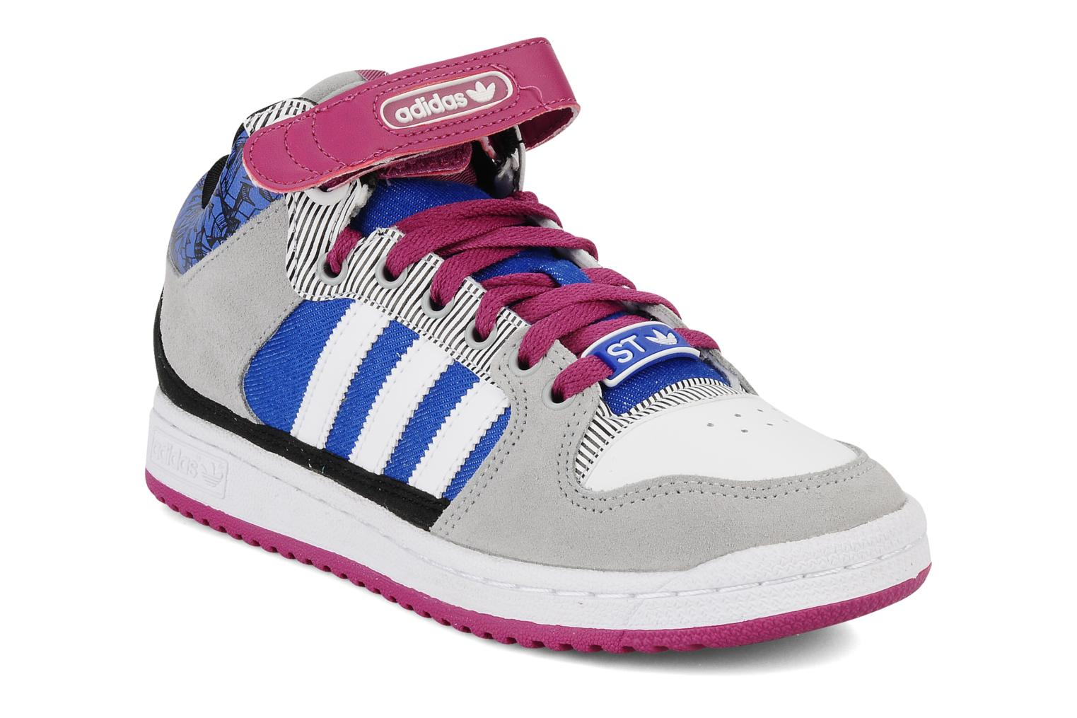 hot sale online a95b4 f3d84 ... Trainers Adidas Originals Decade mid st w White detailed view Pair view  ...