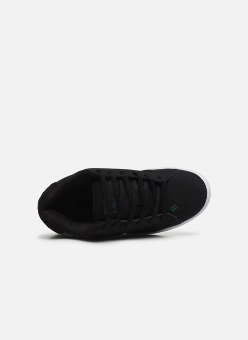Zapatillas de deporte DC Shoes Net Negro vista lateral izquierda