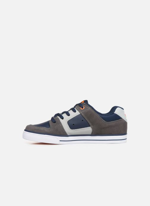 Sport shoes DC Shoes Pure k Grey front view