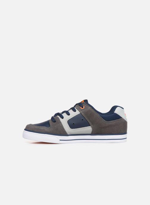 Chaussures de sport DC Shoes Pure k Gris vue face