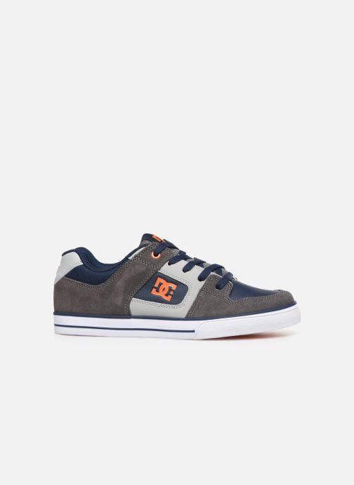 Chaussures de sport DC Shoes Pure k Gris vue derrière