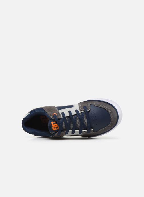 Chaussures de sport DC Shoes Pure k Gris vue gauche