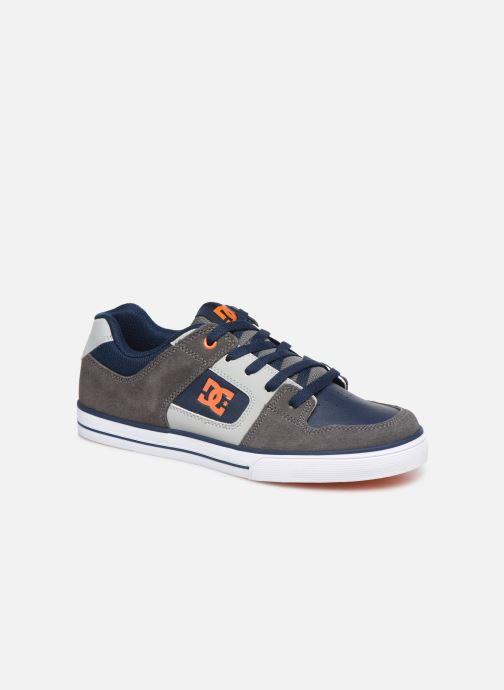 Chaussures de sport DC Shoes Pure k Gris vue détail/paire