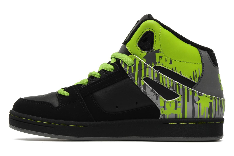 Chaussures de sport DC Shoes Rebound k Noir vue face