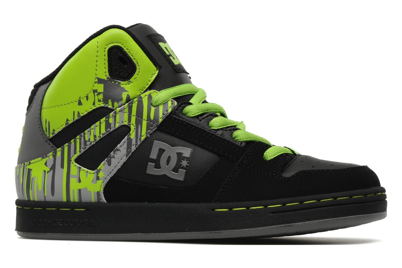 Chaussures de sport DC Shoes Rebound k Noir vue derrière