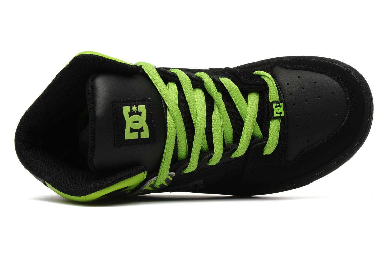 Chaussures de sport DC Shoes Rebound k Noir vue gauche