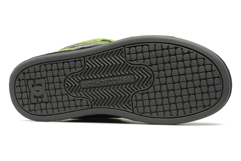 Chaussures de sport DC Shoes Rebound k Noir vue haut