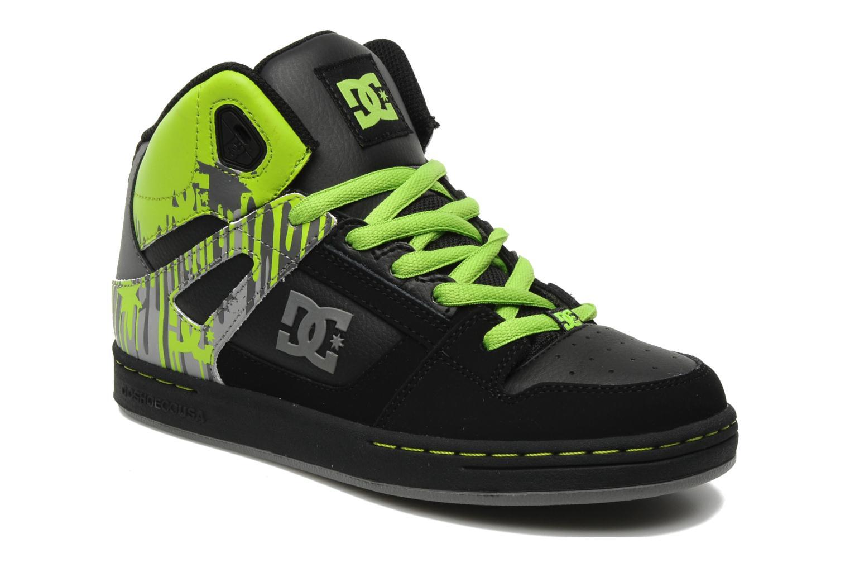 Chaussures de sport DC Shoes Rebound k Noir vue détail/paire