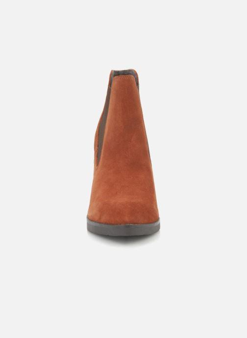 Bottines et boots Bertie Julietta Orange vue portées chaussures