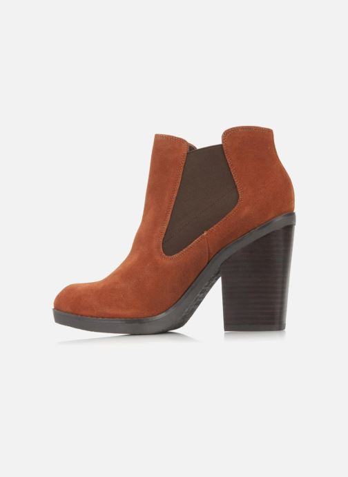 Bottines et boots Bertie Julietta Orange vue face