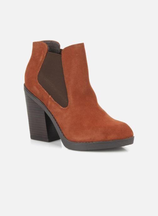 Bottines et boots Bertie Julietta Orange vue détail/paire