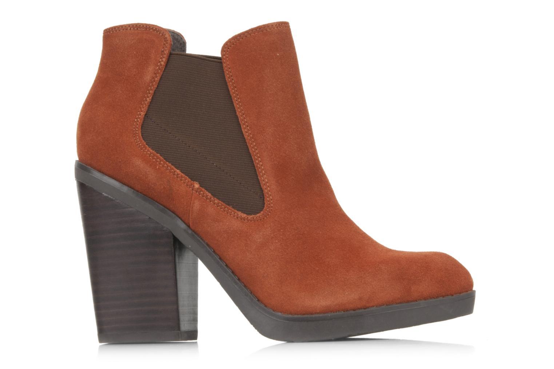 Bottines et boots Bertie Julietta Orange vue derrière