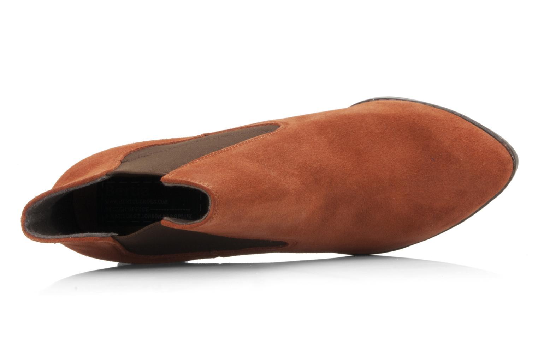 Bottines et boots Bertie Julietta Orange vue gauche