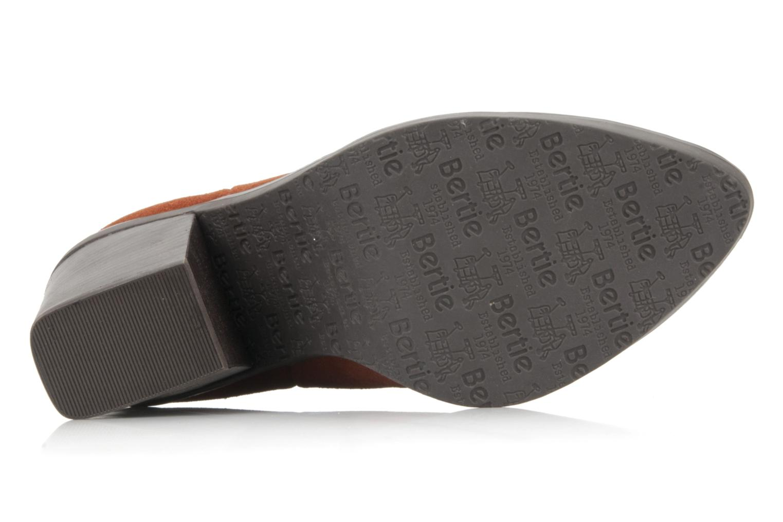 Bottines et boots Bertie Julietta Orange vue haut