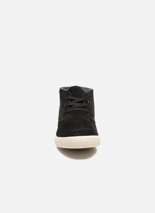 Chaussures à lacets Victoria Safari serraje M Noir vue portées chaussures